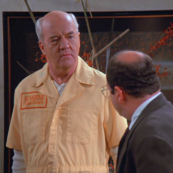 Richard Herd as Mr. Wilhelm on Seinfeld