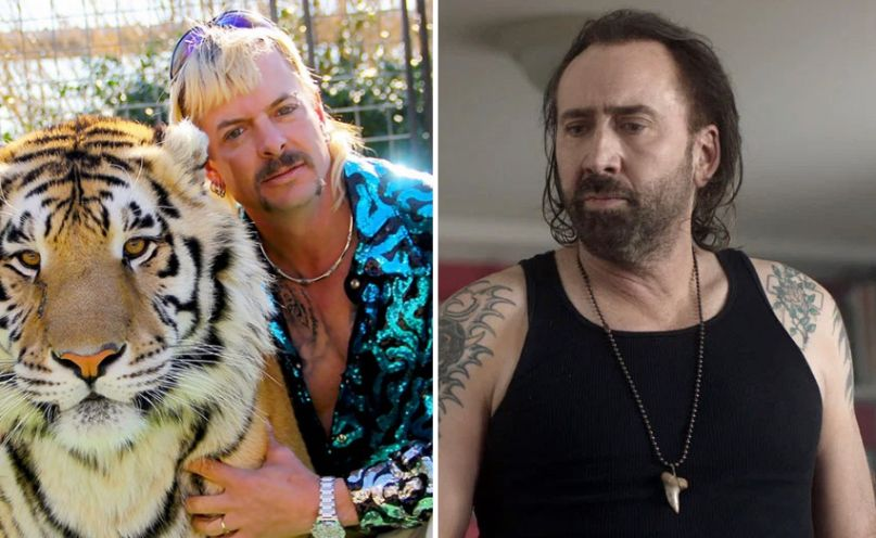 Nicolas Cage to play Joe Exotic