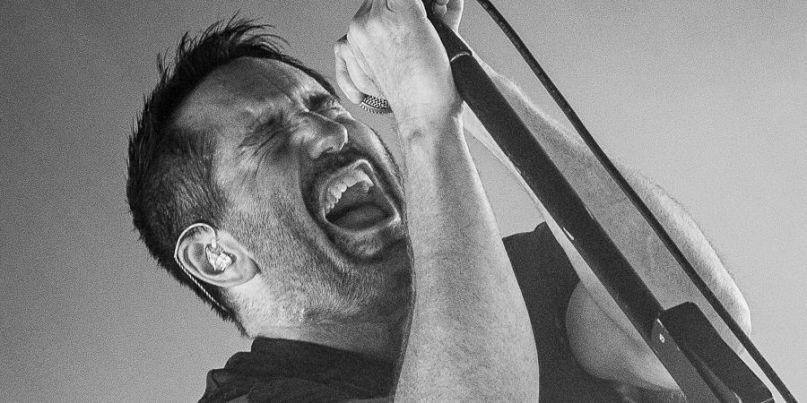 Nine Inch Nails, photo by Melinda Oswandel