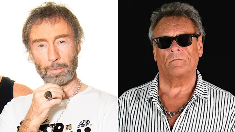 Paul Rodgers and Brian Howe