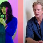 "Sharon Van Etten and Josh Homme in video for ""(What's So Funny 'Bout) Peace, Love and Understanding"""