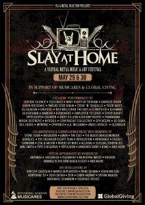 Slay At Home Poster