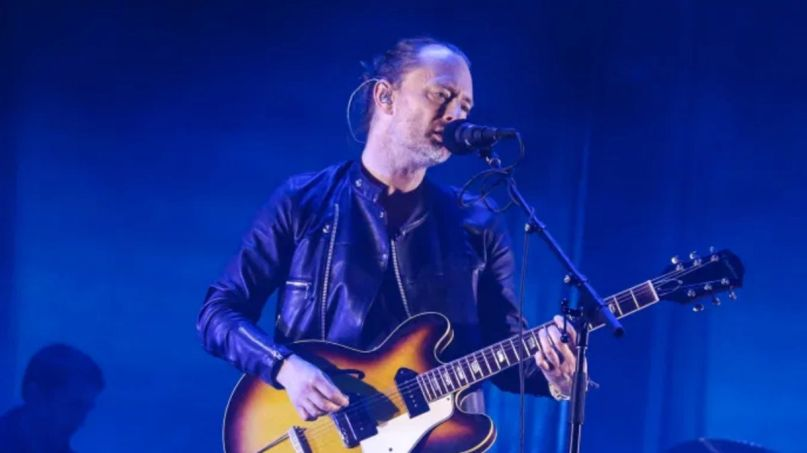 Thom Yorke Sonos radio show playlist mix stream, photo by Nina Corcoran