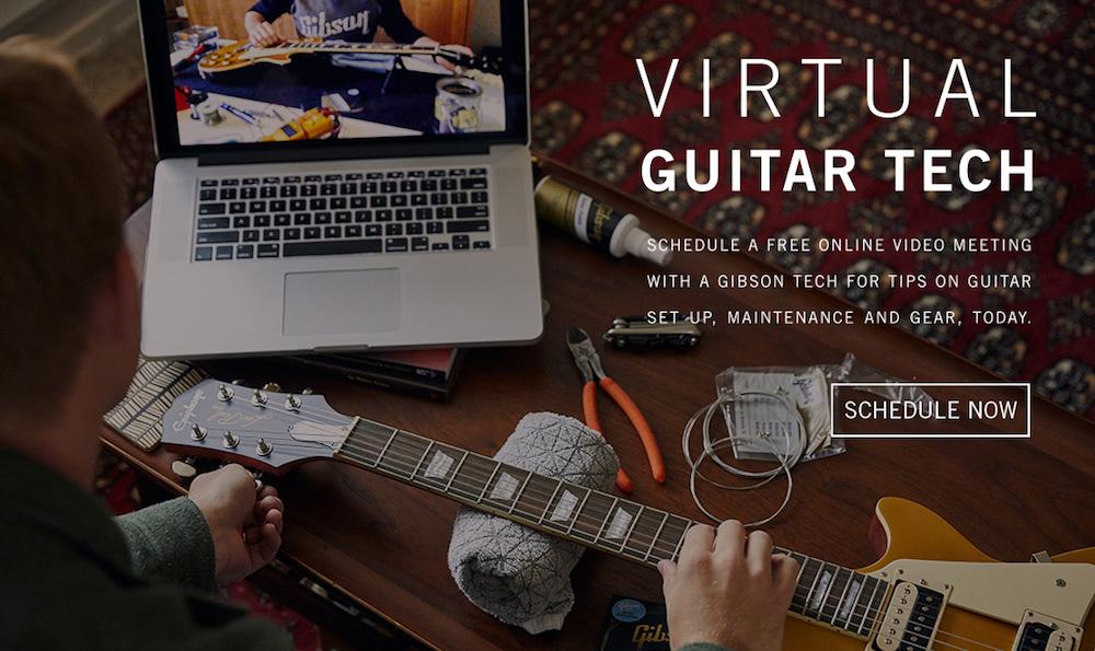 Virtual Guitar Tech tuneups free Gibson Offering Free Virtual Guitar Tune Ups for Quarantined Musicians