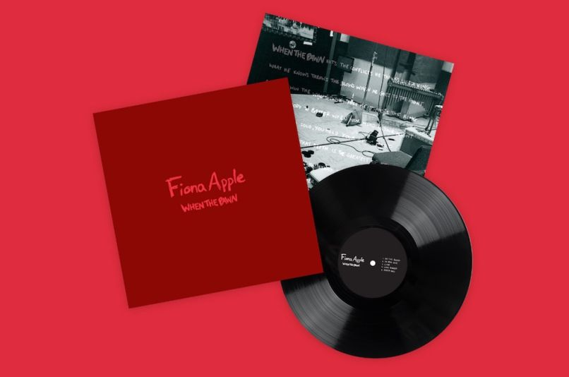 When the Pawn by Fiona Apple cover art album artwork vinyl