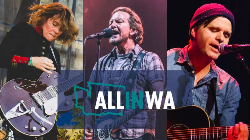 all in wa covid-19 benefit concert pearl jam brandi carlile ben gibbard washington
