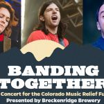 banding together livestream colorado music relief benefit concert avett brothers brandi carlile dave matthews