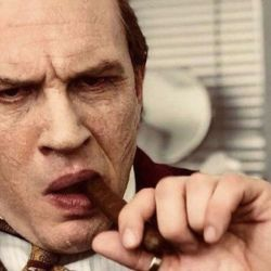 Tom Hardy in Capone (Vertical)