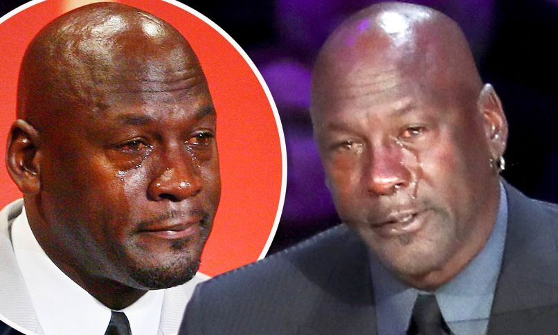 crying jordan From Air Jordans to Space Jam, How Michael Jordan Built His Net Worth