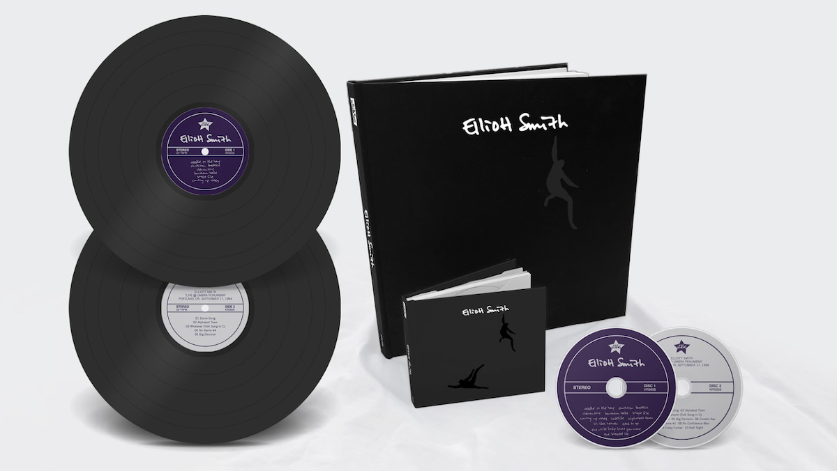elliott smith self-titled reissue 25th anniversary vinyl box set