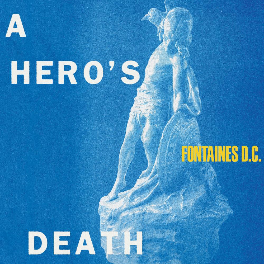 fontaines dc a heros death album artwork cover Fontaines D.C. Announce New Album, Share A Heros Death: Stream