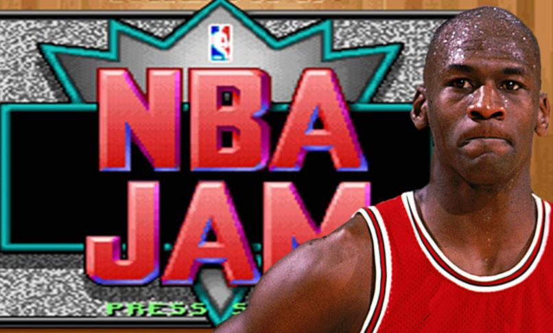 Michael Jordan and NBA Jam