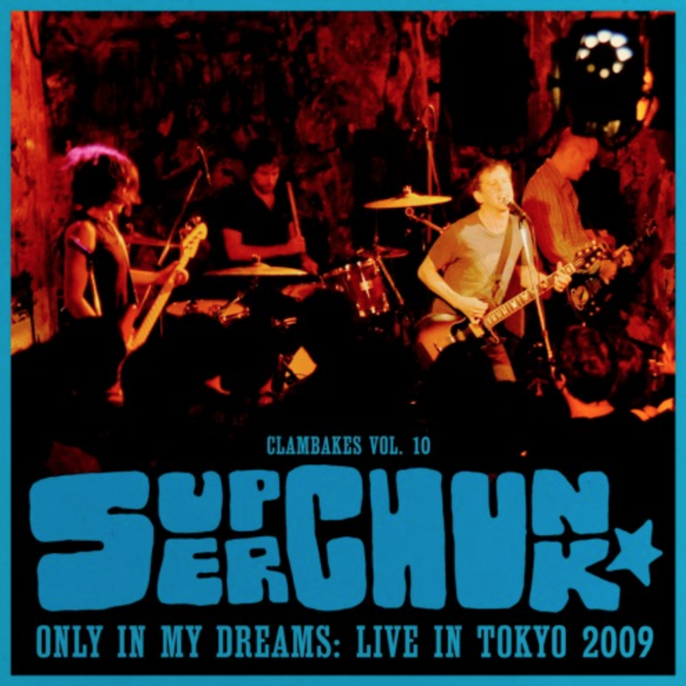 superchunk live in tokyo live album stream release new music artwork Superchunk Release New Live Album Only in My Dreams   Live in Tokyo 2009: Stream