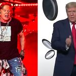 Axl Rose calls Donald Trump repulsive