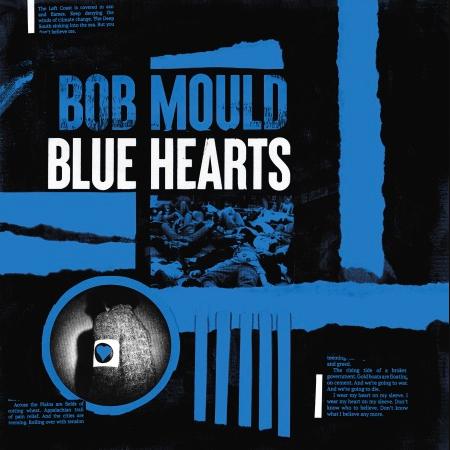 Bob Mould Blue Hearts artwork Bob Mould Announces New Album Blue Hearts, Shares American Crisis: Stream