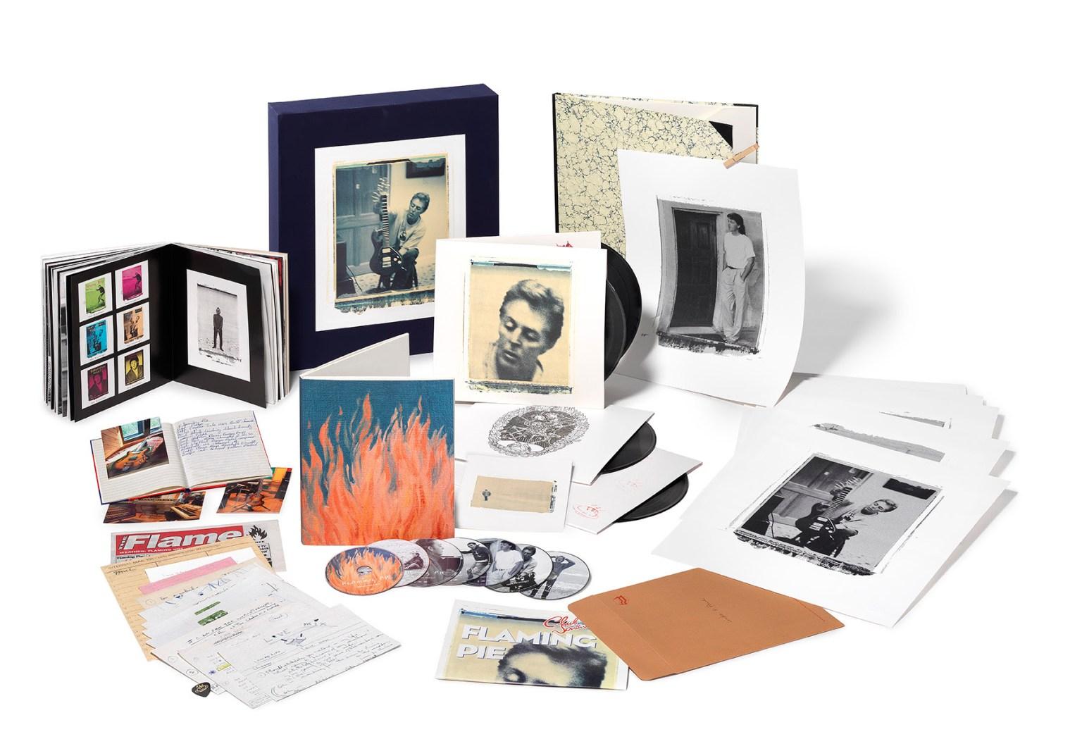 """Paul McCartney anuncia edición de lujo de """"Flaming Pie"""""""