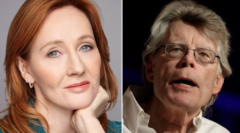 J.K. Rowling and Stephen King