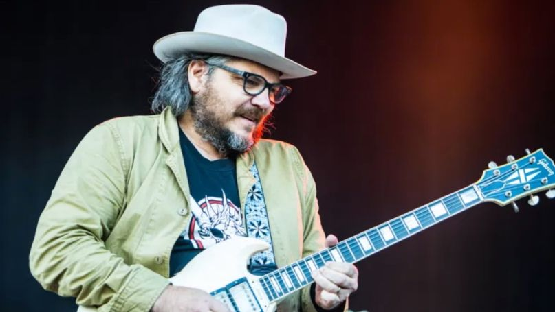 Jeff Tweedy Black Lives Matter Wilco donation, photo by Philip Cosores