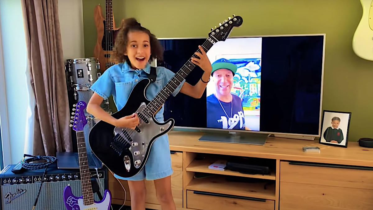 Tom Morello gifts signature guitar to 10-year-old girl who performed Rage Against the Machine cover