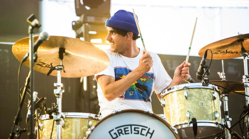 Paramore Zac Farro becca mancari the greatest part philip cosores