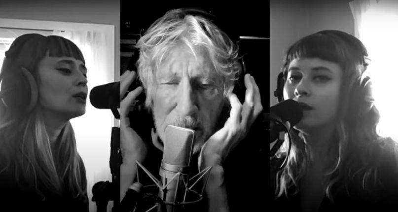"Roger Waters performs ""Two Suns in the Sunset"" in quarantine"