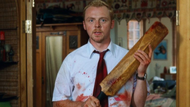 Simon Pegg Black Lives Matter quote in Shaun of the Dead