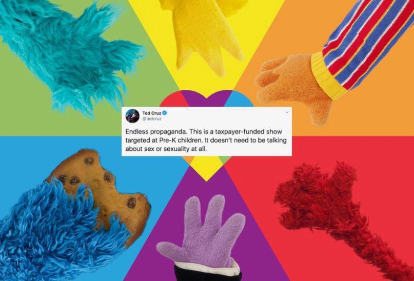 Ted Cruz's angry Sesame Street tweet