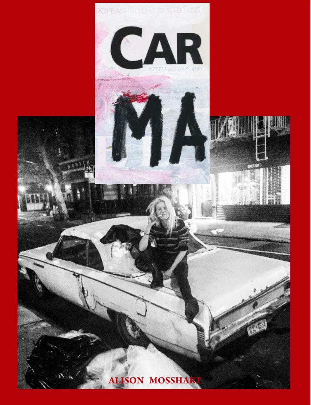 alison mosshart car ma cover Alison Mosshart Announces Spoken Word Album Sound Wheel, Shares Returning the Screw: Stream