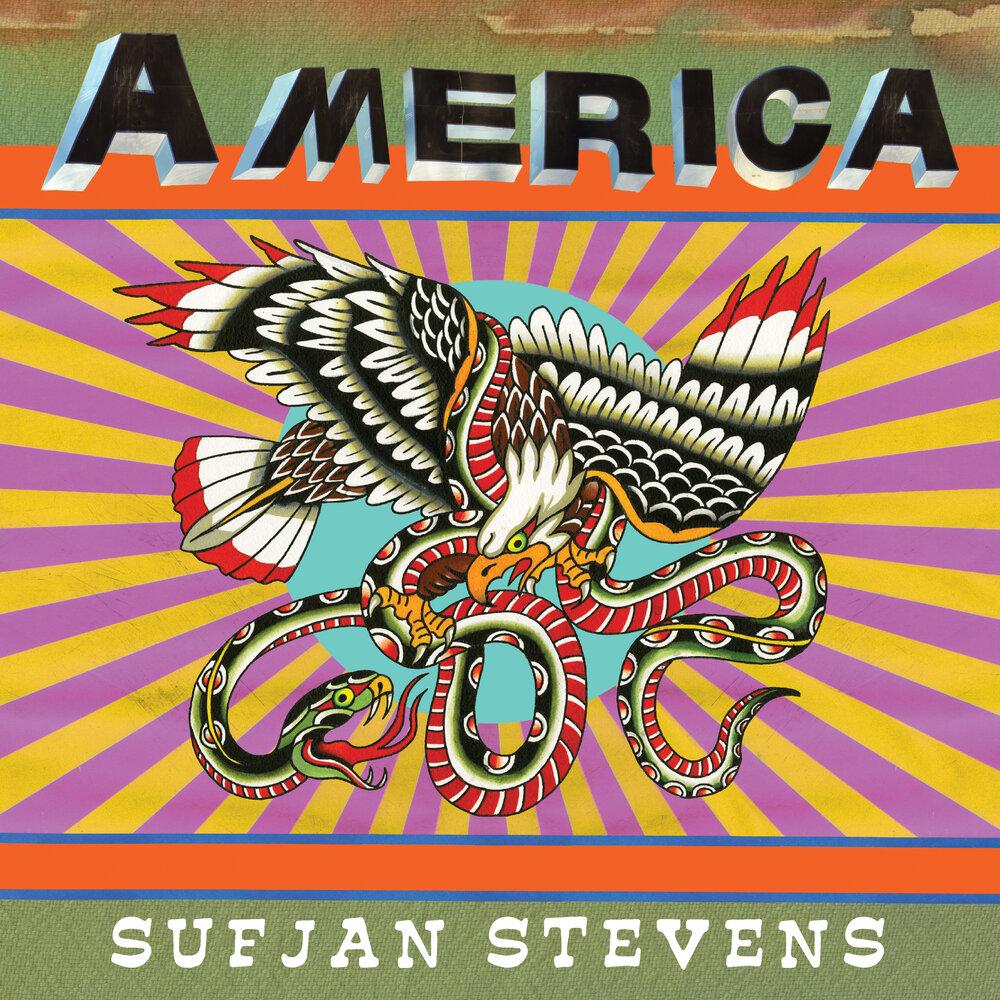 sufjan america single artwork Sufjan Stevens Announces New Album The Ascension
