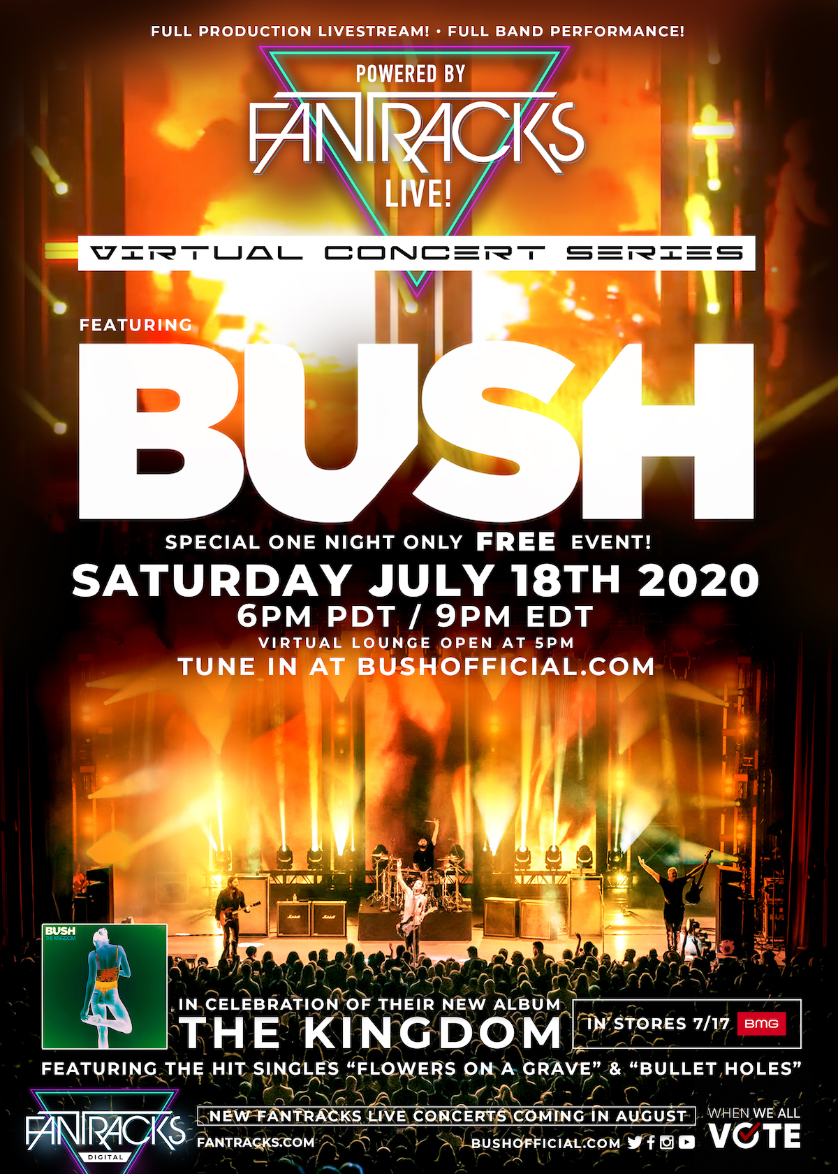 BUSH Livestream