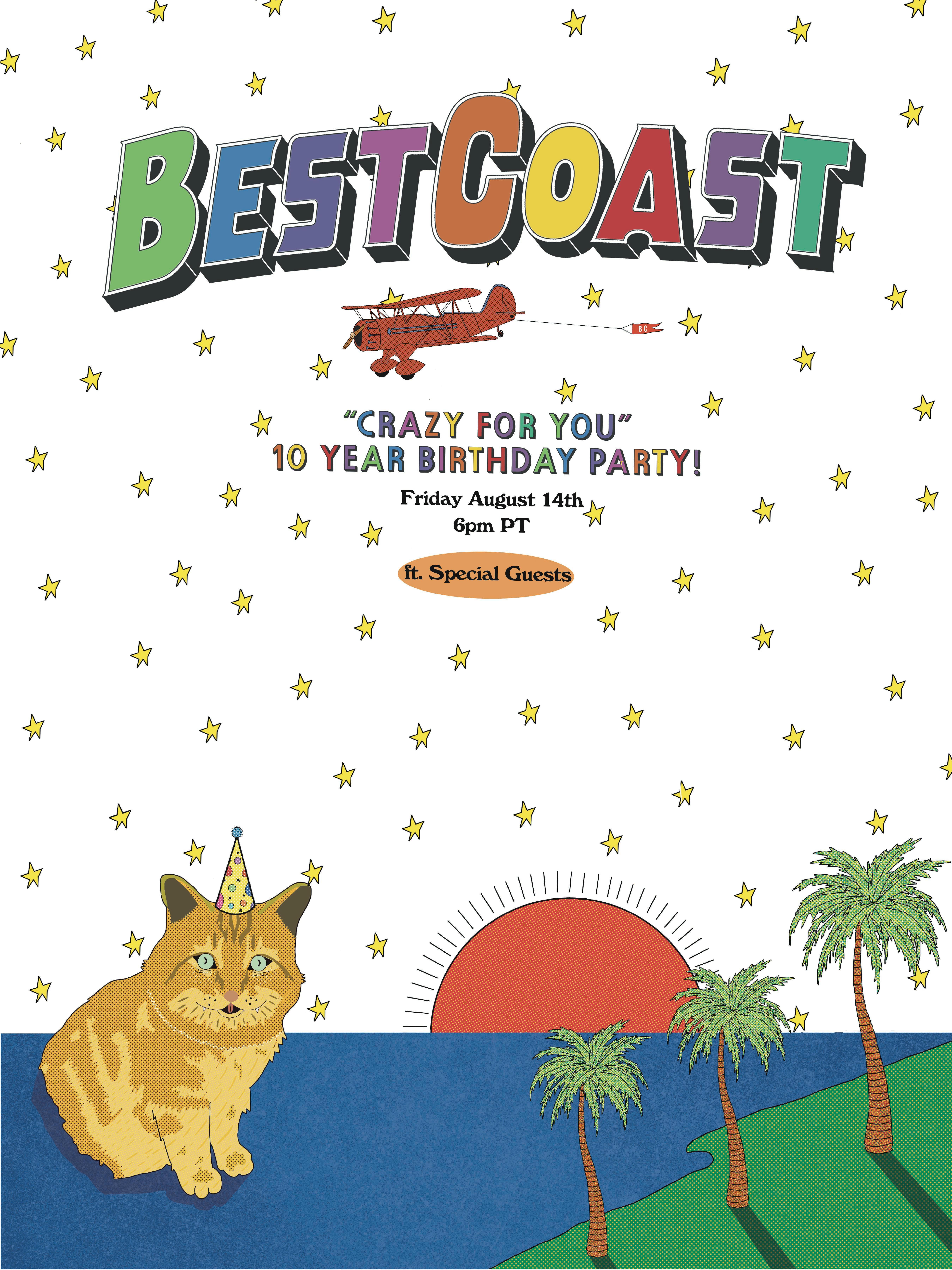 Best Coast anniversary concert