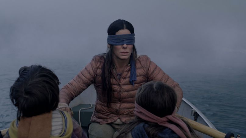 Bird Box sequel Josh Malerman new book movie (Netflix)