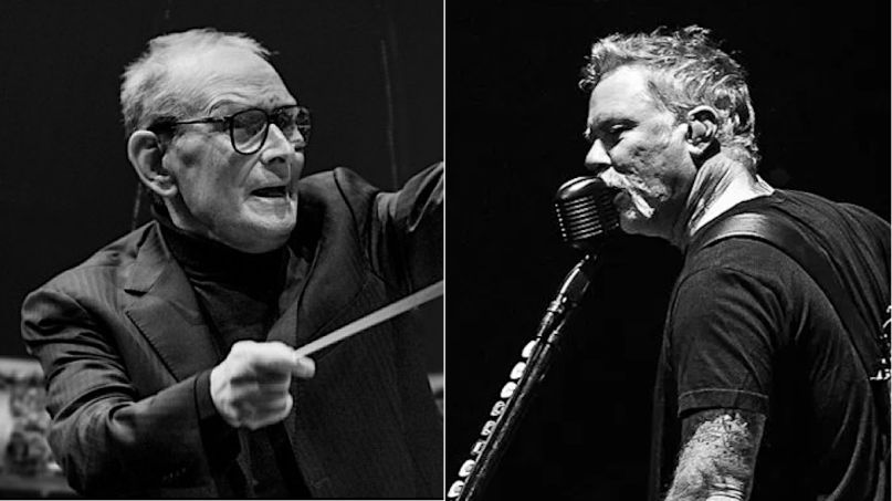 Metallica honor Ennio Morricone