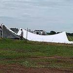 Herd Immunity festival setup
