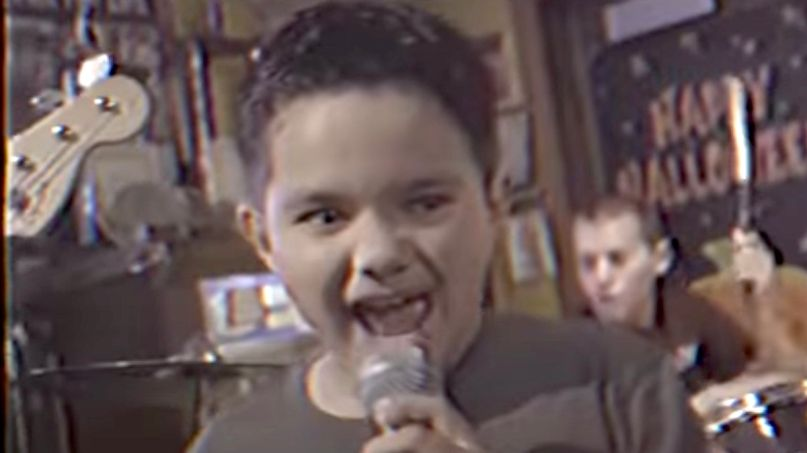 9-year-old performs Metallica