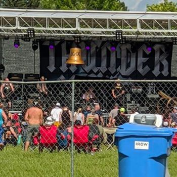 Crowd at July Mini Fest in Wisconsin