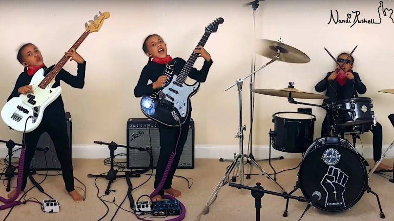 Nandi Bushell performs Audioslave