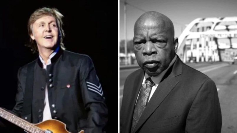 Paul McCartney John Lewis Pettus Bridge Rename