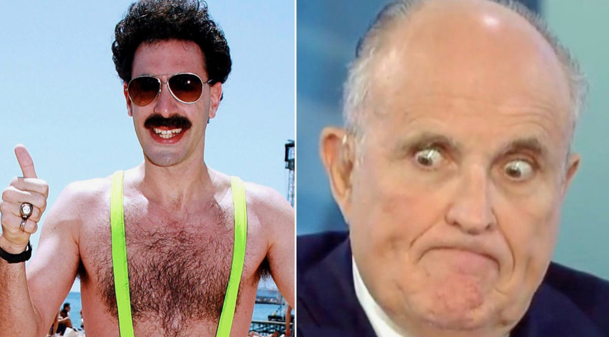 Rudy Giuliani calls cops on Sacha Baron Cohen after being pranked