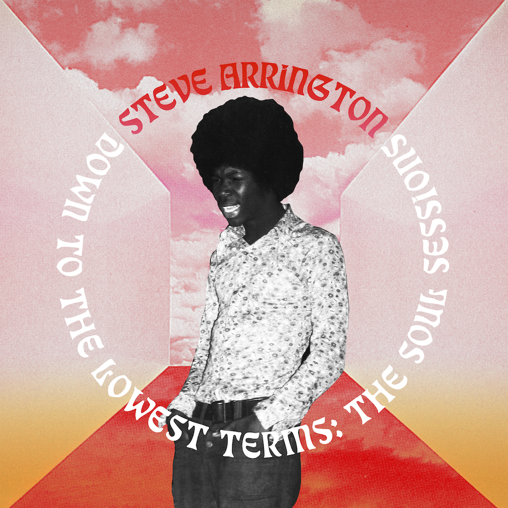 Steve Arrington - Down to the Lowest Terms Artwork