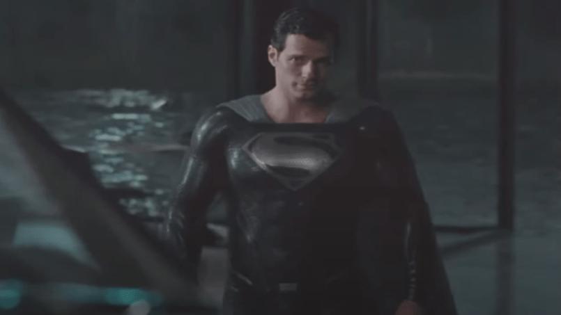 Superman black suit justice league director's cut zack snyder