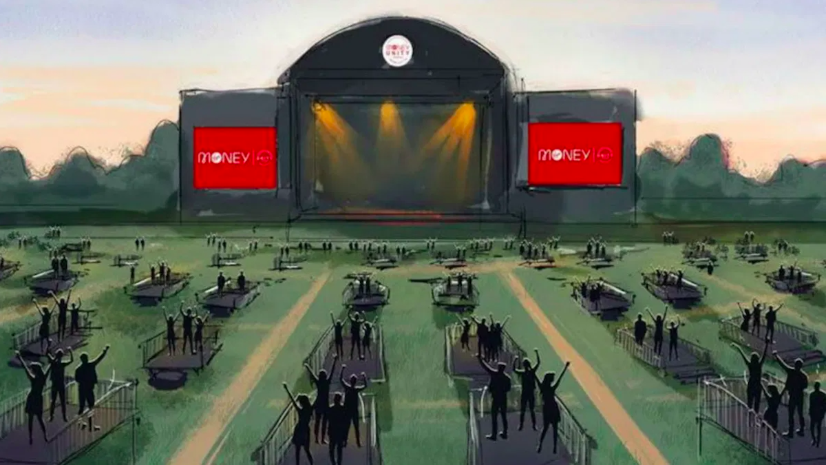 Outdoor concerts are allowed to return in the UK