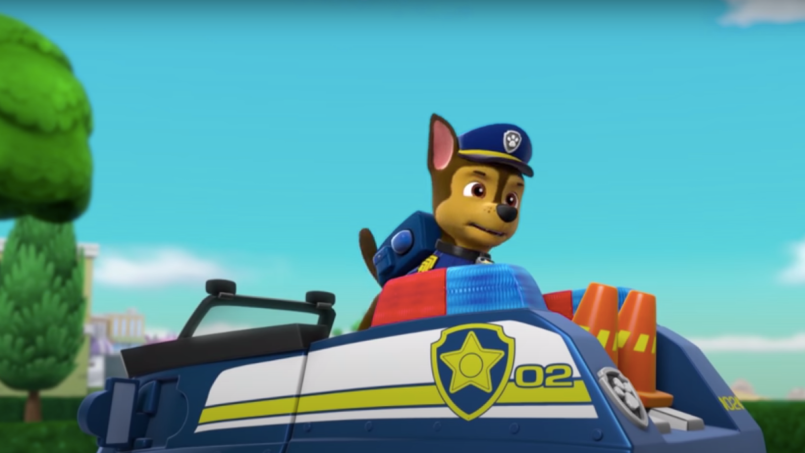 White House Lies Paw Patrol Cancelled Donald Trump Chase German Shepard Cops