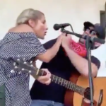 Woman Coughs on Clayton Gardner During Concert Covid-19 Coronavirus Performance Twitter Video