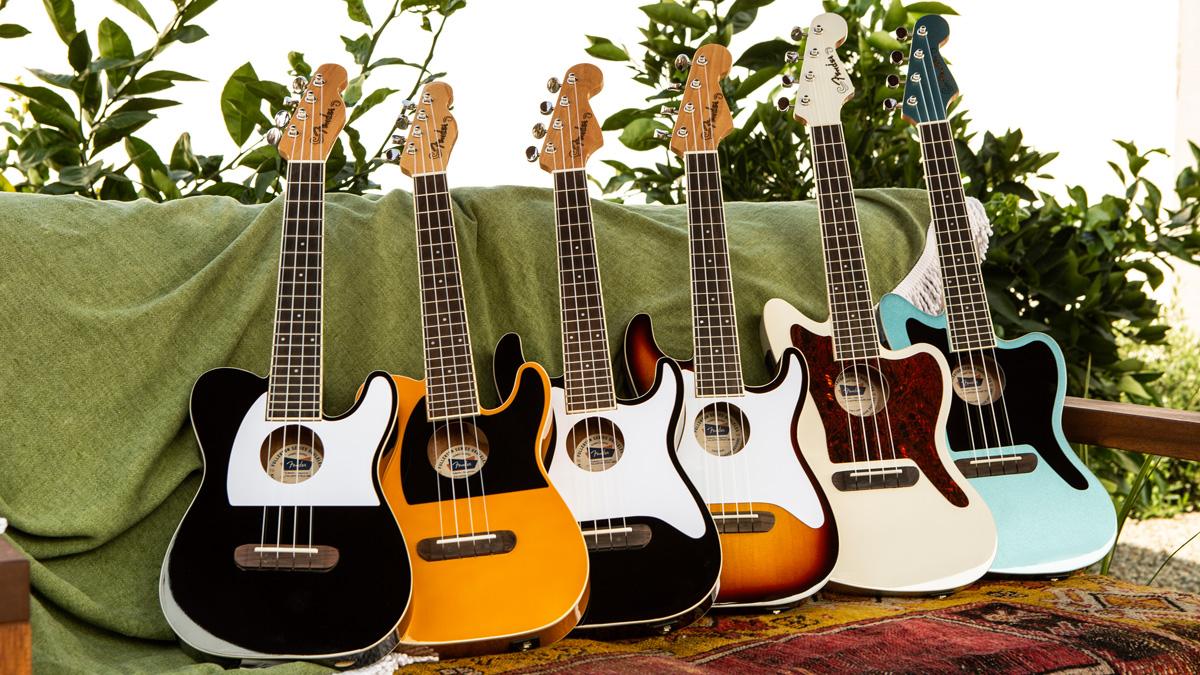 Fender unveils new Fullerton electric-acoustic ukulele series
