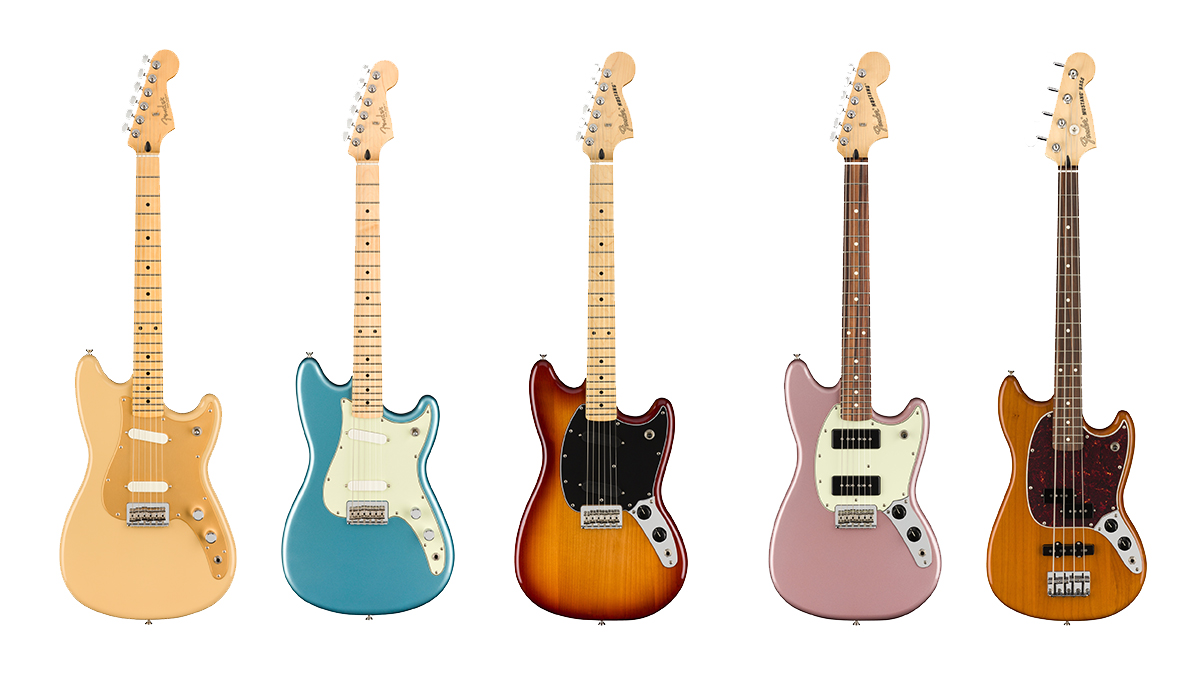 Fender launches new Player Offset electric guitar models