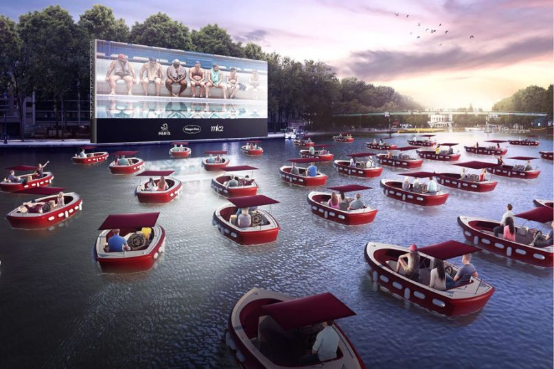 Floating Theater in Paris