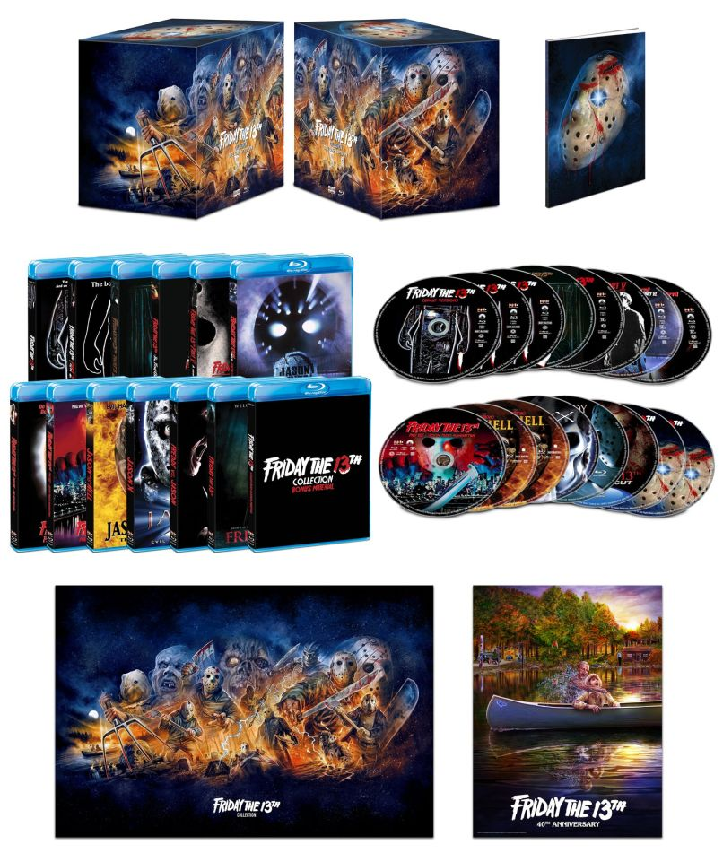 friday the 13th box set Epic Friday the 13th Blu ray Box Set Announced for October