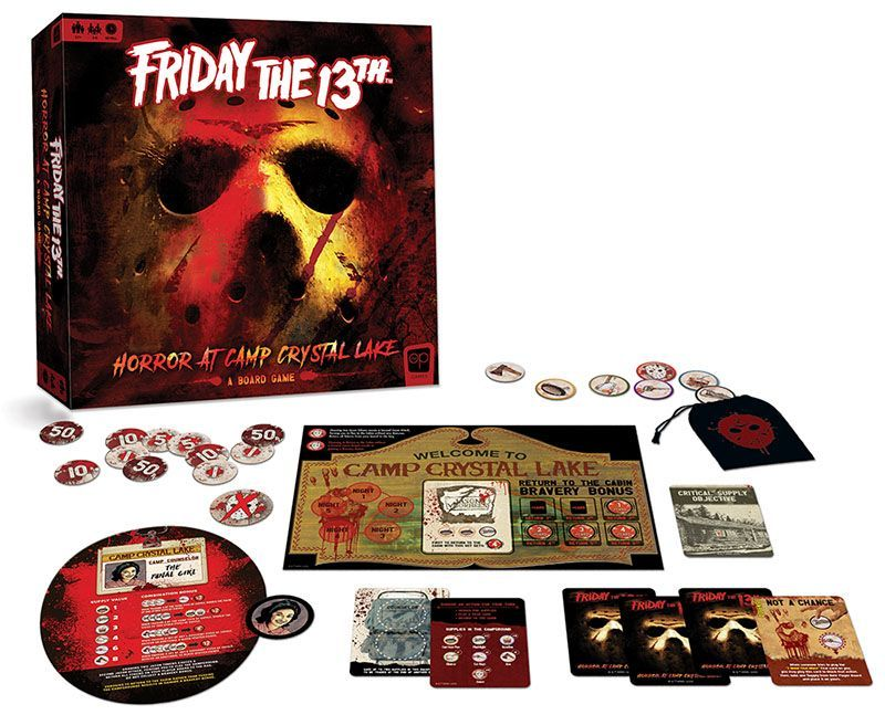 Jason Lives! First Official Friday the 13th Board Game Now ...