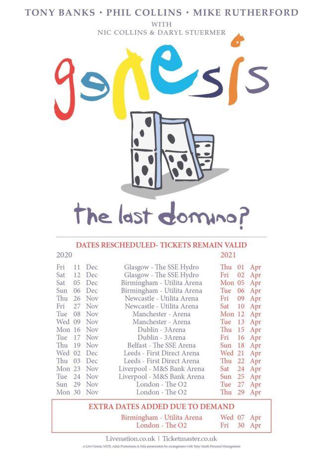 genesis 2021 reunion tour dates